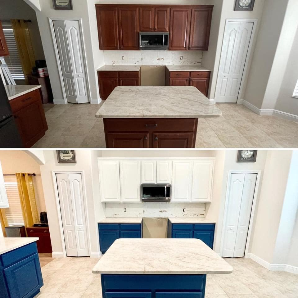 cabinet refinishing Clermont